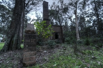 Abandoned Furnace at a hospital for the criminally insane Morisset Australia