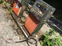 Abandoned Gas Pump in Shikoku Japan