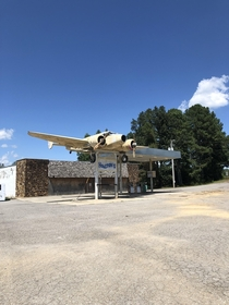 Abandoned gas station in North Alabama