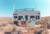 Abandoned gas station in Winnemucca Nevada