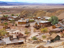 Abandoned Ghost Town Calico California United States Founded in