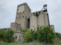 Abandoned grain elevator in Indiana