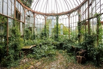 Abandoned greenhouse  by Nicola Bertellotti