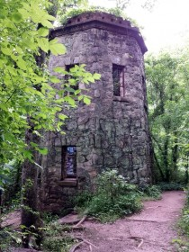 Abandoned Grist Mill at Peachtree Creek