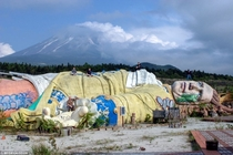 Abandoned Gullivers Travels Theme Park in Japan