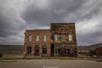 Abandoned Gym in Bodie CA