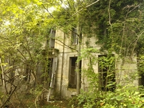 Abandoned hamlet near the village of Cnac in the south west of France