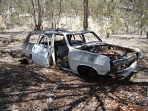 Abandoned HD Holden Wagon Central Western NSW Australia