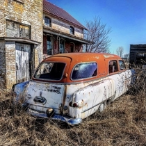 Abandoned Hearse in Rural Central Wisconsin Instagram stephaniekay