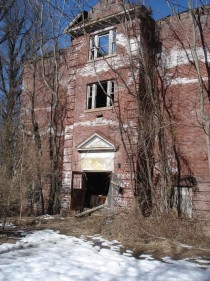 Abandoned high school in Lambertville NJ