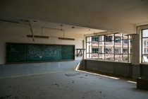 Abandoned high school outside Seoul South Korea