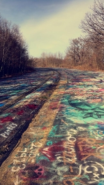 Abandoned Highway in Centralia PA