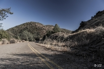 Abandoned highway Jamestown California  x