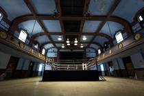 Abandoned Historic Boxing Ring