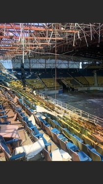 Abandoned Hockey Arena Recently Destroyed By Tornado in SW Ohio  DkDisplay
