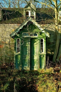 Abandoned home in Inverness Scotland