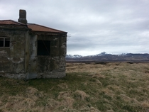 Abandoned home in northwest Iceland