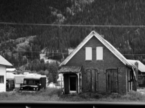 Abandoned home in Silverton CO