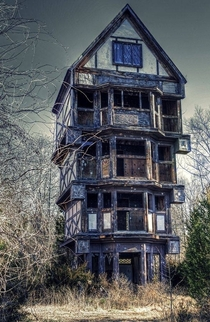 Abandoned home in Virginia USA