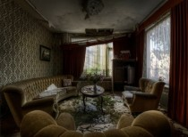 Abandoned home near Chernobyl