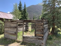 Abandoned homestead being retaken by nature in Colorado