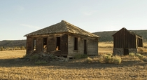 Abandoned homestead Central Oregon Desert