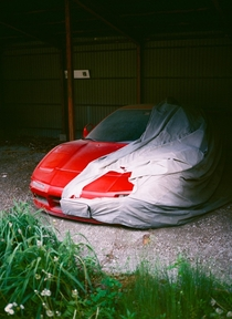 Abandoned Honda NSX in Karuizawa Japan