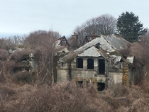 Abandoned Horse Stables in Newport RI Pretty cleared out but if you go inside you can hear the sounds of horses walking still Formally part of an estate located on the southernmost part of the island The stables are the only thing remaining to this day