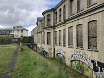 Abandoned hospital in Belfast