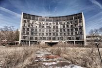 Abandoned Hospital in Richmond Indiana  by Gary Scroggins