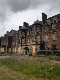 Abandoned Hospital near Edinburgh