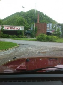 Abandoned Hospital near Man WV