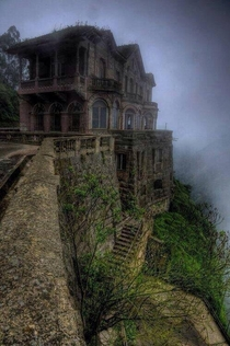 Abandoned hotel in Colombia
