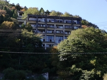 Abandoned hotel in Japan that I went  months ago  Biggest abandoned place in my prefecture