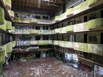 Abandoned hotel in the Azores