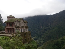 Abandoned hotel in the jungles of Columbia