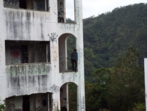 Abandoned hotel named Lequio Resort in Okinawa Japan