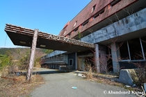 Abandoned hotel visited three times by Japanese emperor Hirohito a decade after he avoided being charged with war crimes