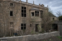 Abandoned house at Hampole West Riding of Yorkshire