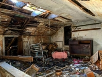 Abandoned House Attic I thought this looked like an awesome spot for a picture What do you think Location Pennsylvania USA