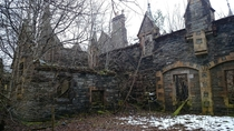 Abandoned house found in Dunalastair Estate Perthshire Scotland One MIC