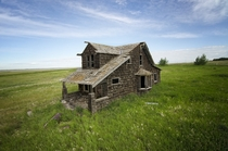 Abandoned house in Alberta Canada