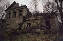 abandoned house in Kirzhach Russia