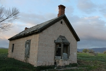 Abandoned house in one of our fields  x