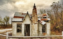 Abandoned House in Picher Oklahoma