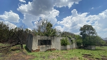 Abandoned house in Suikerboschfontein South Africa