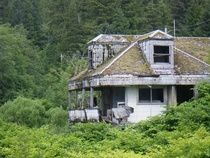 Abandoned house in the Alaskan wilderness  OC