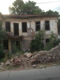 Abandoned house in tip Macedonia