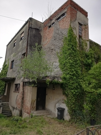 Abandoned house in Zagreb Croatia