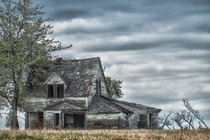 Abandoned House near Garrington Alberta  by Darrell Paul